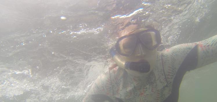 snorkelling 1