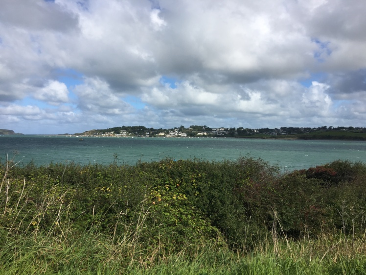 cycling Camel Trail Cornwall Padstow Sea view Blue skies Outdoors Activities Cycle path