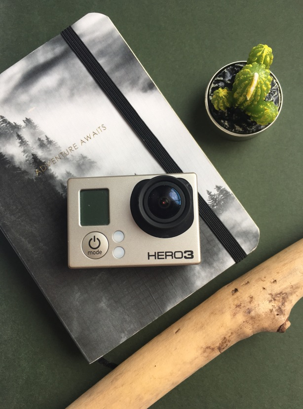tablet flatlay annual leave lifestyle blogger gopro planner